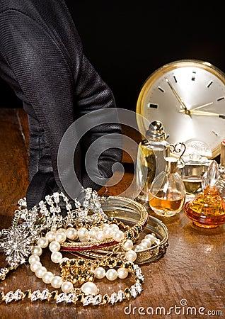 Free Diamond Burglar Royalty Free Stock Photos - 7081938