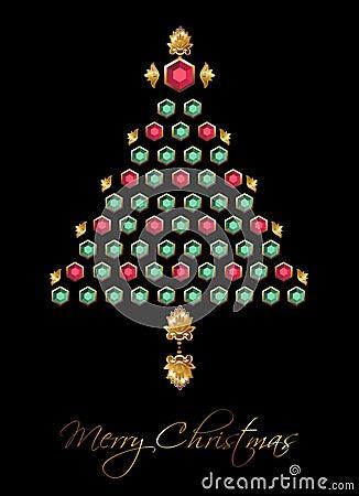 Diamond Christmas Tree.