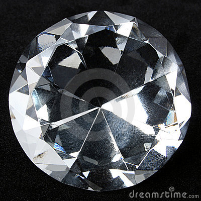 Diamond closeup