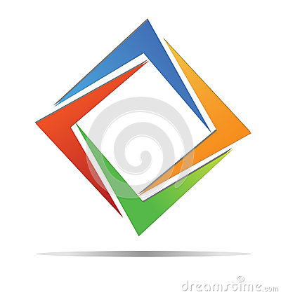 Diamond colorful logo