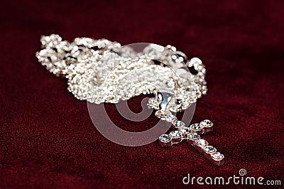 Diamond Crucifix