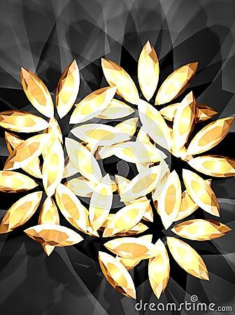 Diamond flower 2