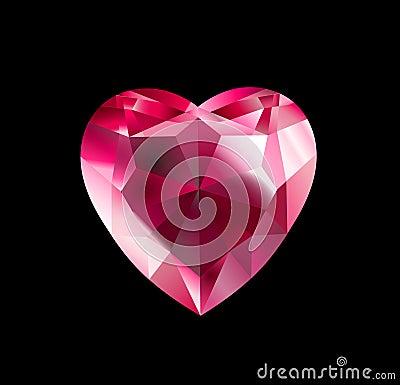 Free Diamond Heart Stock Photos - 7549203