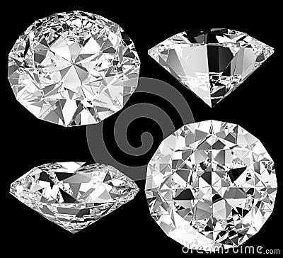Diamond isolated
