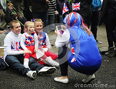 Diamond jubilee: Family Editorial Photography
