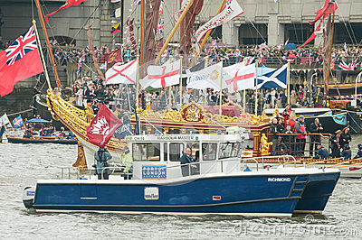 Diamond Jubilee Pageant Editorial Image