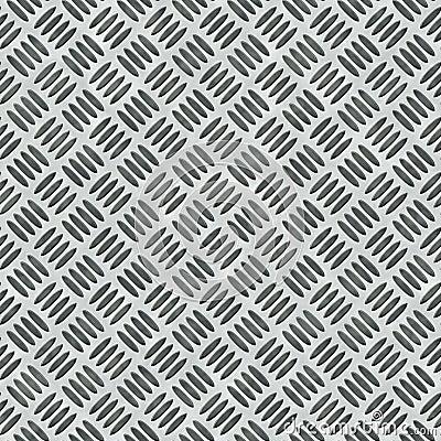 Diamond Plate Bumped Metal