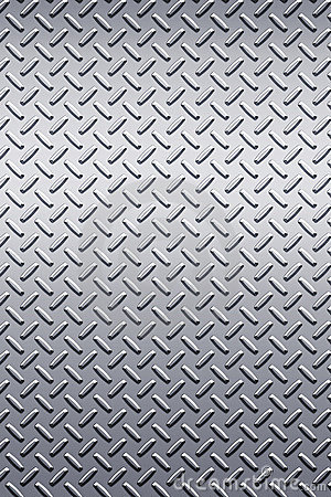 Free Diamond Plate Metal Texture Stock Image - 4972711