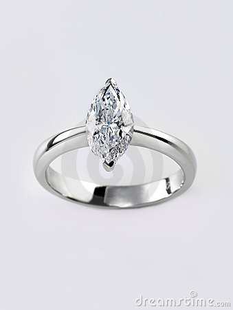 Free Diamond Ring Royalty Free Stock Photos - 10014038