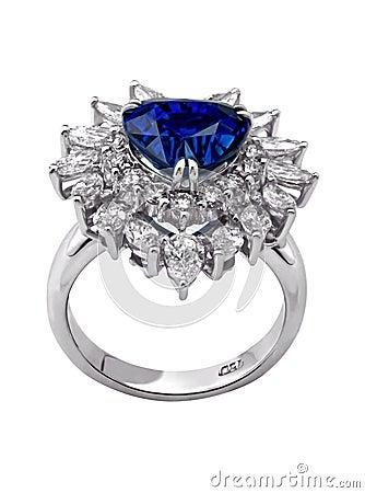 Free Diamond Ring Royalty Free Stock Photo - 11957135
