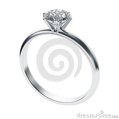 Free Diamond Ring Royalty Free Stock Photo - 6335365