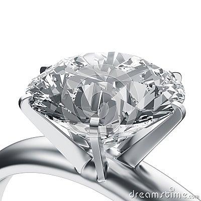 Free Diamond Ring Royalty Free Stock Photography - 6335367