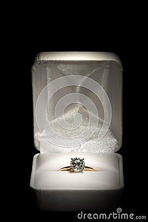 Diamond Ring in Box