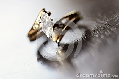 Diamond Ring Representing Love and Commitment