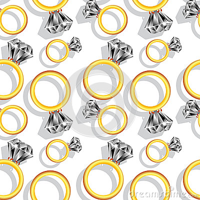 Diamond rings pattern