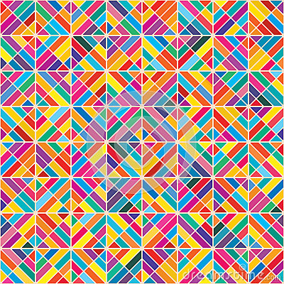 Free Diamond Shape Colorful Eight Seamless Pattern Royalty Free Stock Photography - 67375427