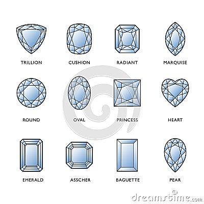 Free Diamond Shapes Royalty Free Stock Photo - 17694965