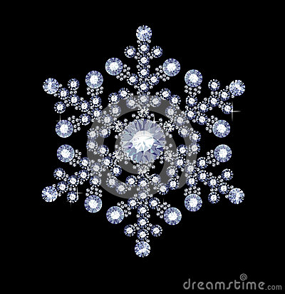 Diamond Snowflake