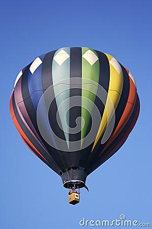 Diamond Striped Hot Air Balloon