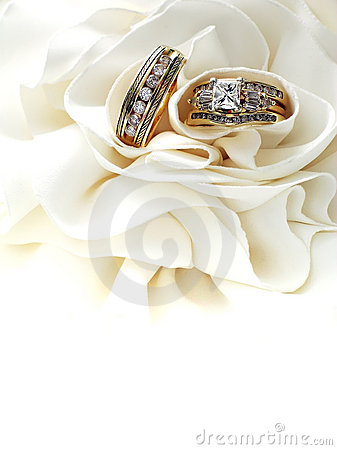 Free Diamond Wedding Rings Stock Image - 180671