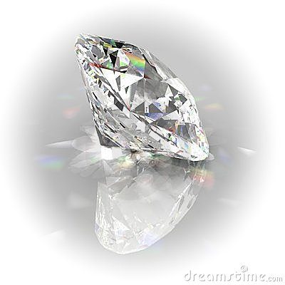 Diamond with white rounded frame