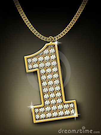 Free Diamonds Necklace Royalty Free Stock Images - 12495819