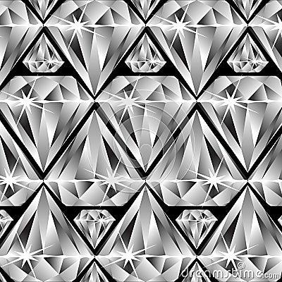 Undershave Diamond Design Diamonds Pattern Stock...