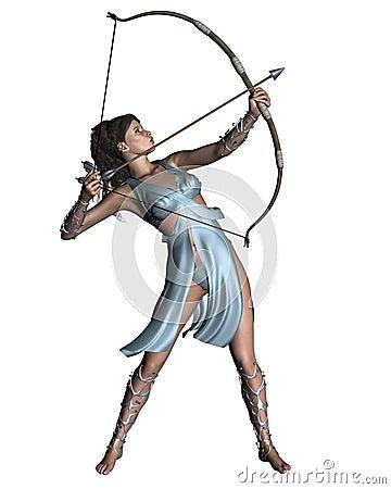 Free Diana (Artemis) The Huntress Stock Images - 14114224