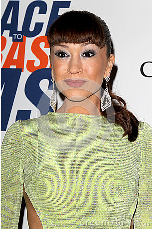 Diana DeGarmo arrives at the 19th Annual Race to Erase MS gala Editorial Photography