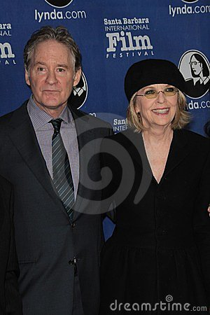 Diane Keaton, Kevin Kline Editorial Image