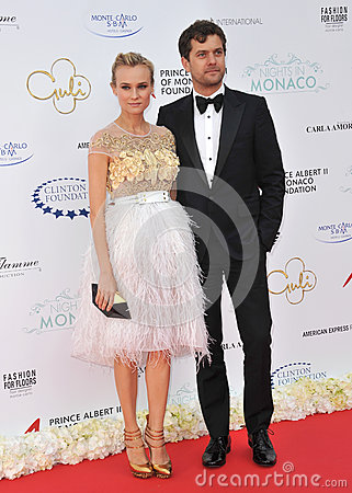 Diane Kruger & Joshua Jackson Editorial Photo
