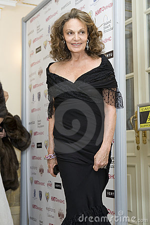 Diane von Furstenberg Editorial Stock Photo