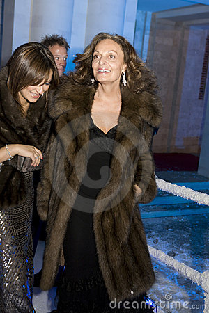 Diane von Furstenberg Editorial Photography