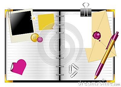 Diary personal organiser
