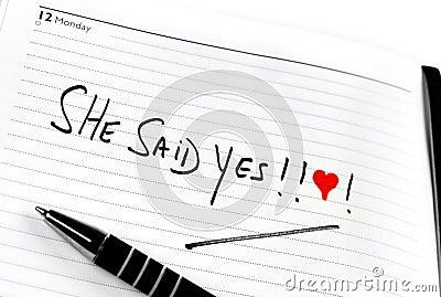 Diary proposal