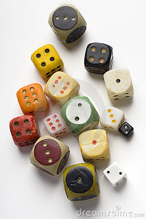 Free Dice Royalty Free Stock Photography - 12416597