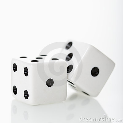 Free Dice. Stock Photo - 3531840