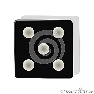 Free Dice Cube Icon Stock Photos - 79381273