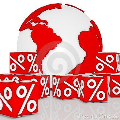 Dice discount around the earth