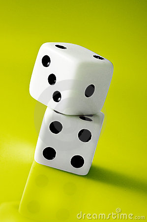 Free Dice Stack Stock Images - 19511274