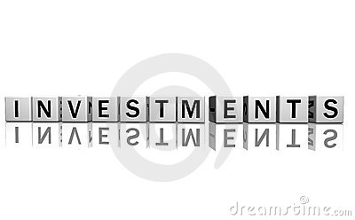 Dice White Investments Stock Photos - Image: 4574393