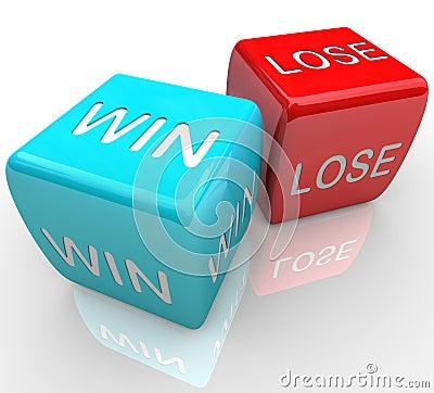 Dice - Win Vs Lose