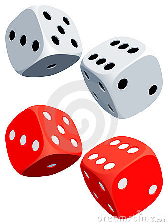 Free Dices. Royalty Free Stock Photo - 16685335