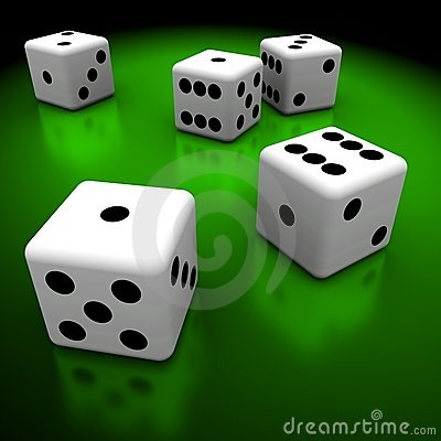 Free Dices Royalty Free Stock Images - 4760499