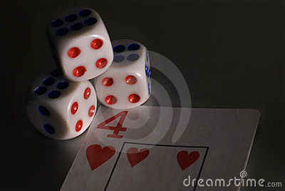 Dices and Card 4