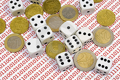 Dices and coins on binary numbers