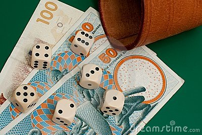 Dices and money