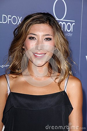 Dichen Lachman at the Australians in Film 8th Annual Breakthrough Awards, Hotel Intercontinental, Century City, CA 06-27-12 Editorial Stock Image