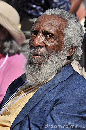 Dick Gregory Editorial Stock Image