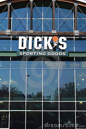 Dicks Sporting Goods Store Editorial Photography